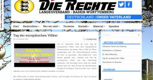 Nazis von die Rechte moblisieren für Aufmarsch in WaR/Friedlingen